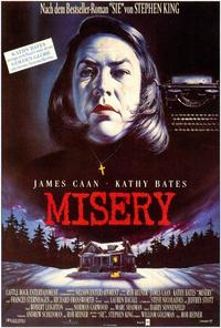 Misery - 27 x 40 Movie Poster - German Style A