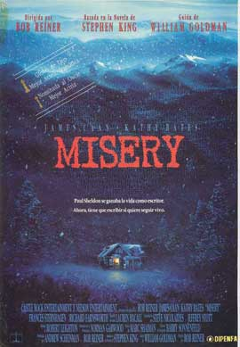 Misery - 11 x 17 Movie Poster - Spanish Style A
