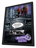 Misfits - 11 x 17 TV Poster - Style A - in Deluxe Wood Frame
