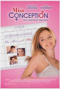 Miss Conception - 43 x 62 Movie Poster - Bus Shelter Style A