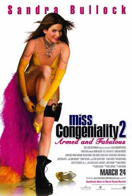 Miss Congeniality 2: Armed and Fabulous - 11 x 17 Movie Poster - Style B