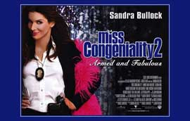 Miss Congeniality 2: Armed and Fabulous - 11 x 17 Movie Poster - UK Style A
