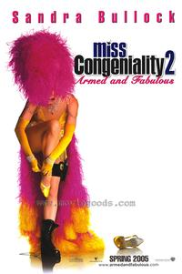 Miss Congeniality 2: Armed and Fabulous - 43 x 62 Movie Poster - Bus Shelter Style A