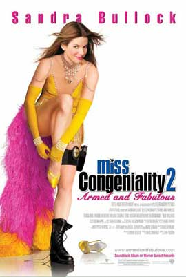 Miss Congeniality 2: Armed and Fabulous - 27 x 40 Movie Poster - Style B
