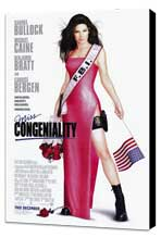 Miss Congeniality - 27 x 40 Movie Poster - Style A - Museum Wrapped Canvas
