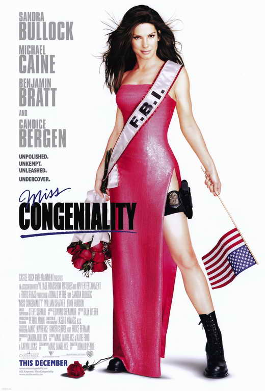 Miss Congeniality Movie Posters From Movie Poster Shop