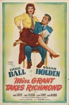 Miss Grant Takes Richmond - 11 x 17 Movie Poster - Style A