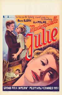 Miss Julie - 11 x 17 Movie Poster - Belgian Style A