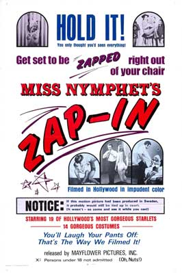 Miss Nymphet's Zap-In - 27 x 40 Movie Poster - Style A