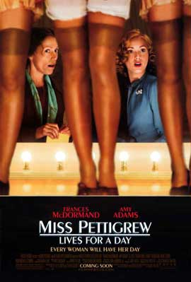 Miss Pettigrew Lives For A Day - 11 x 17 Movie Poster - Style A