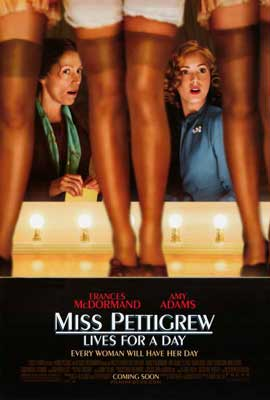 Miss Pettigrew Lives For A Day - 27 x 40 Movie Poster - Style A