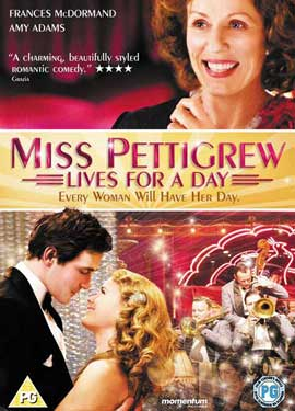 Miss Pettigrew Lives For A Day - 27 x 40 Movie Poster - Style B