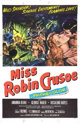 Miss Robin Crusoe - 11 x 17 Movie Poster - Style B