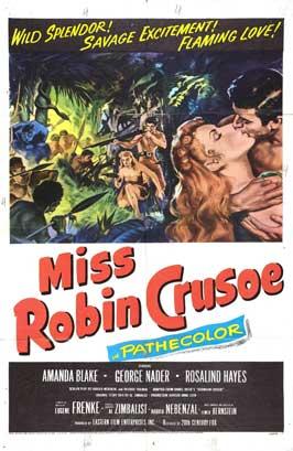 Miss Robin Crusoe - 27 x 40 Movie Poster - Style B
