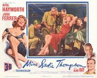 Miss Sadie Thompson - 11 x 14 Movie Poster - Style A