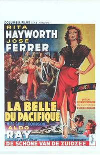 Miss Sadie Thompson - 14 x 22 Movie Poster - Belgian Style A