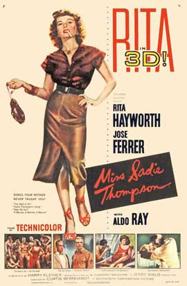 Miss Sadie Thompson - 27 x 40 Movie Poster - Style B
