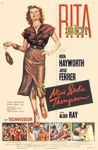 Miss Sadie Thompson - 43 x 62 Movie Poster - Bus Shelter Style A