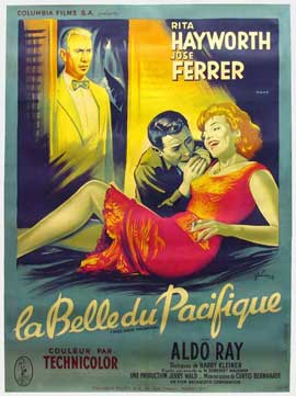 Miss Sadie Thompson - 11 x 17 Movie Poster - French Style A