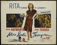 Miss Sadie Thompson - 11 x 14 Movie Poster - Style B