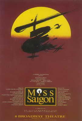 Miss Saigon (Broadway) - 11 x 17 Poster - Style A