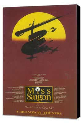 Miss Saigon (Broadway) - 11 x 17 Poster - Style A - Museum Wrapped Canvas