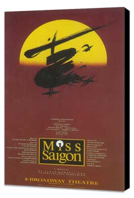 Miss Saigon (Broadway) - 27 x 40 Poster - Style A - Museum Wrapped Canvas
