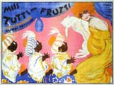 Miss Tutti Frutti - 11 x 17 Movie Poster - German Style A