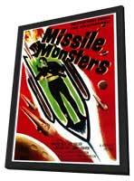 Missile Monsters - 27 x 40 Movie Poster - Style A - in Deluxe Wood Frame