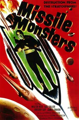Missile Monsters - 11 x 17 Movie Poster - Style A