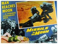 Missile to the Moon - 11 x 14 Movie Poster - Style F