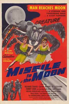 Missile to the Moon - 11 x 17 Movie Poster - Style A