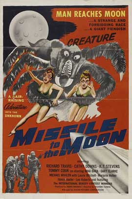 Missile to the Moon - 27 x 40 Movie Poster - Style B