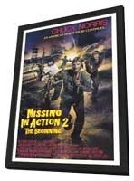 Missing in Action 2: The Beginning - 27 x 40 Movie Poster - Style A - in Deluxe Wood Frame