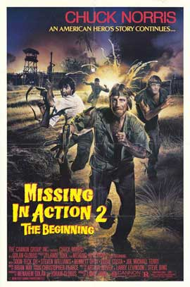 Missing in Action 2: The Beginning - 11 x 17 Movie Poster - Style A