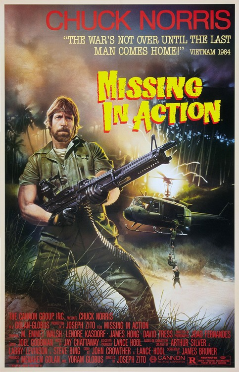 Missing in Action - 11 x 17 Movie Poster - Style A