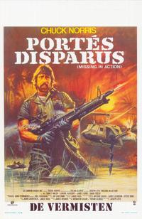 Missing in Action - 11 x 17 Movie Poster - Belgian Style A