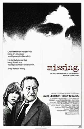 Missing - 27 x 40 Movie Poster - Style B