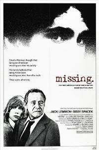 Missing - 43 x 62 Movie Poster - Bus Shelter Style A