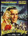 Mission � Tanger - 11 x 17 Movie Poster - French Style A