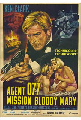 Mission Bloody Mary - 27 x 40 Movie Poster - Style A
