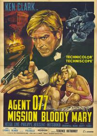 Mission Bloody Mary - 43 x 62 Movie Poster - Bus Shelter Style A