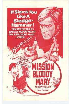 Mission Bloody Mary - 27 x 40 Movie Poster - Style B