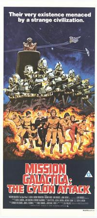 Mission Galactica: The Cyclon Attack - 27 x 40 Movie Poster - Australian Style A