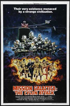 Mission Galactica: The Cyclon Attack - 11 x 17 Movie Poster - Style A