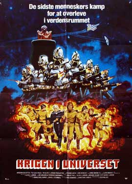 Mission Galactica: The Cyclon Attack - 27 x 40 Movie Poster - Danish Style A