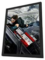 Mission: Impossible - Ghost Protocol - 11 x 17 Movie Poster - Style C - in Deluxe Wood Frame
