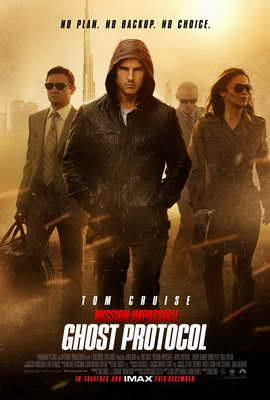 Mission: Impossible - Ghost Protocol - 27 x 40 Movie Poster - Style B