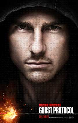 Mission: Impossible - Ghost Protocol - DS 1 Sheet Movie Poster - Style A
