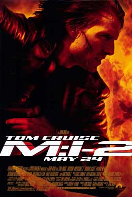 Mission: Impossible 2 - 11 x 17 Movie Poster - Style A